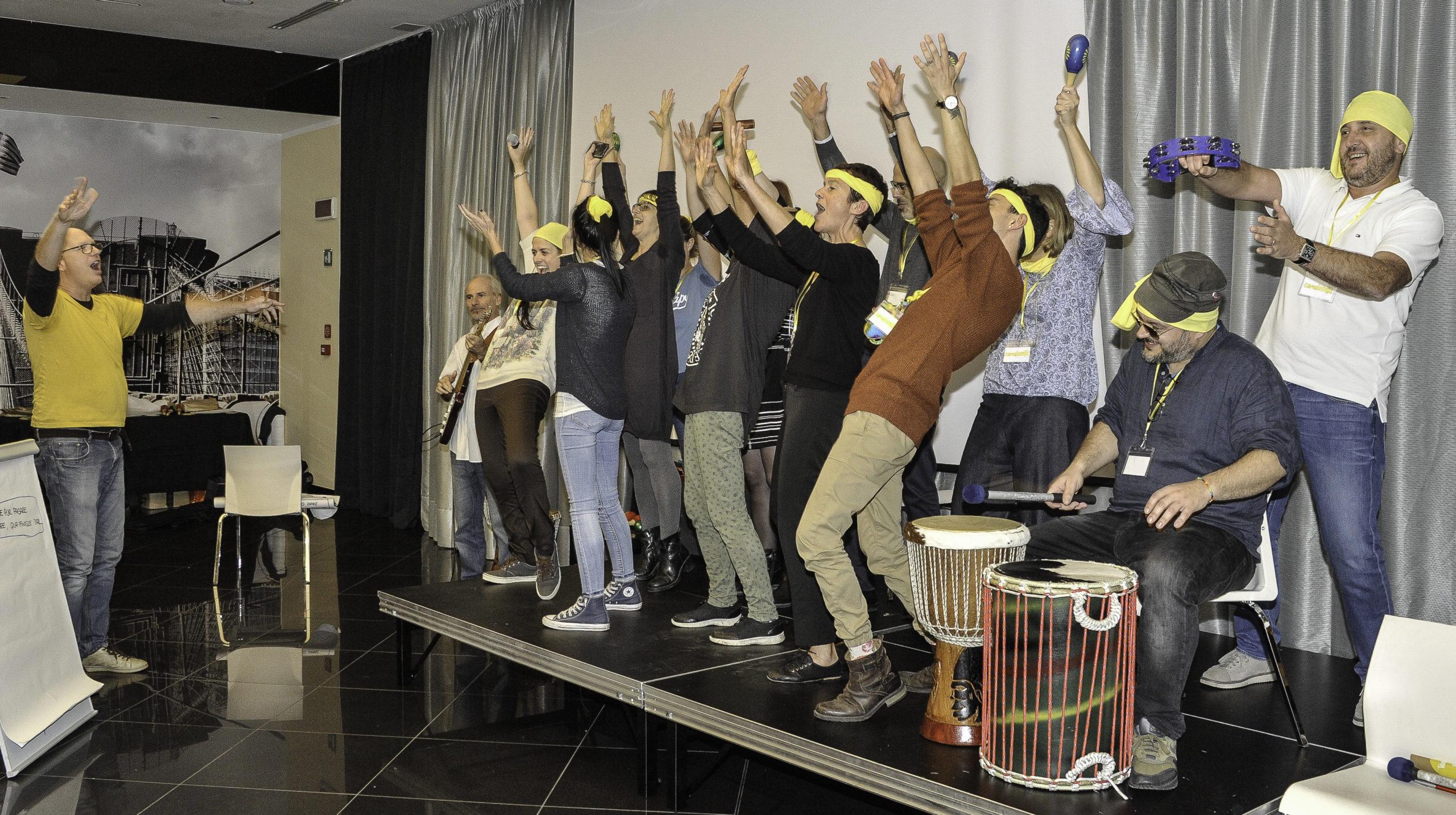 Team Building Musicali sul Lago di Garda per PayPal, Calzedonia e Maui Jim