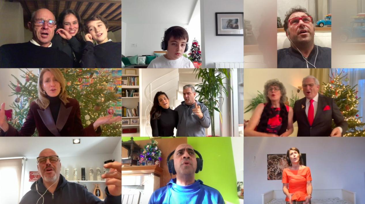 Team Building Online di Natale con la Musica!